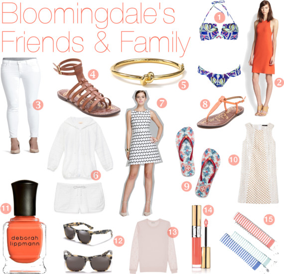 Christina's Picks Bloomingdale's Friends and Family