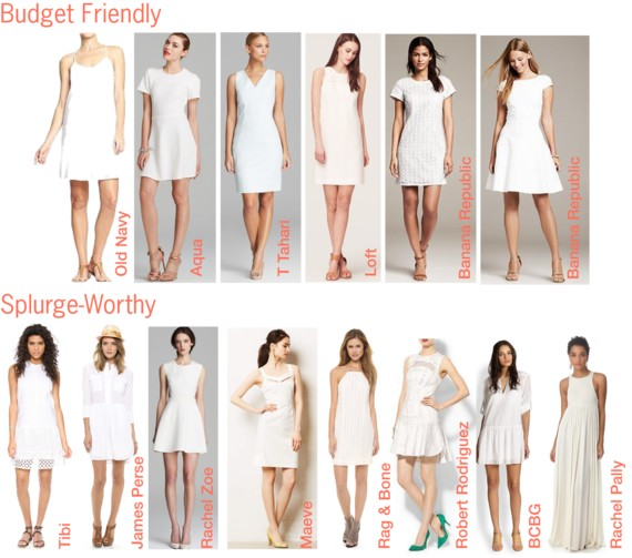 LWD Little White Dress Roundup
