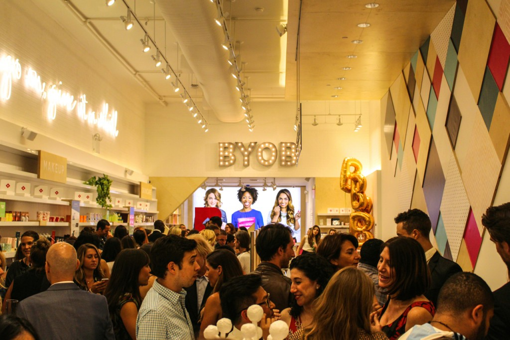 Birchbox Soho Store Opening 433 West Broadway NYC