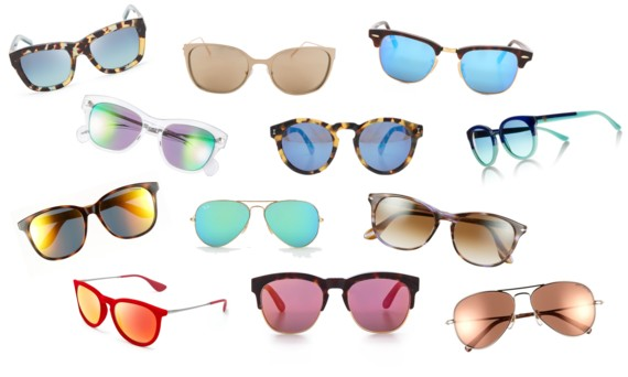 Summer 2014 Trend - Mirrored Sunglasses