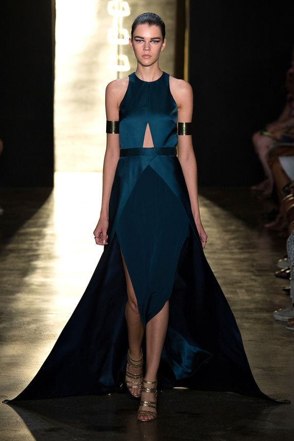 NY Fashion Week |Spring 2015 RTW | Cushnie et Ochs