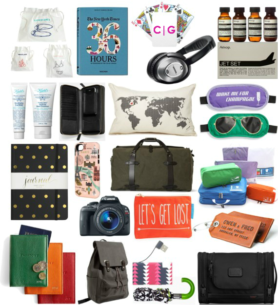 2014 Holiday Gift Guide :: For The Traveler :: Gift Ideas