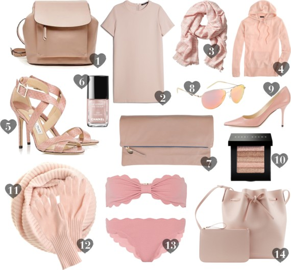 Currently Trending :: Blush Tones