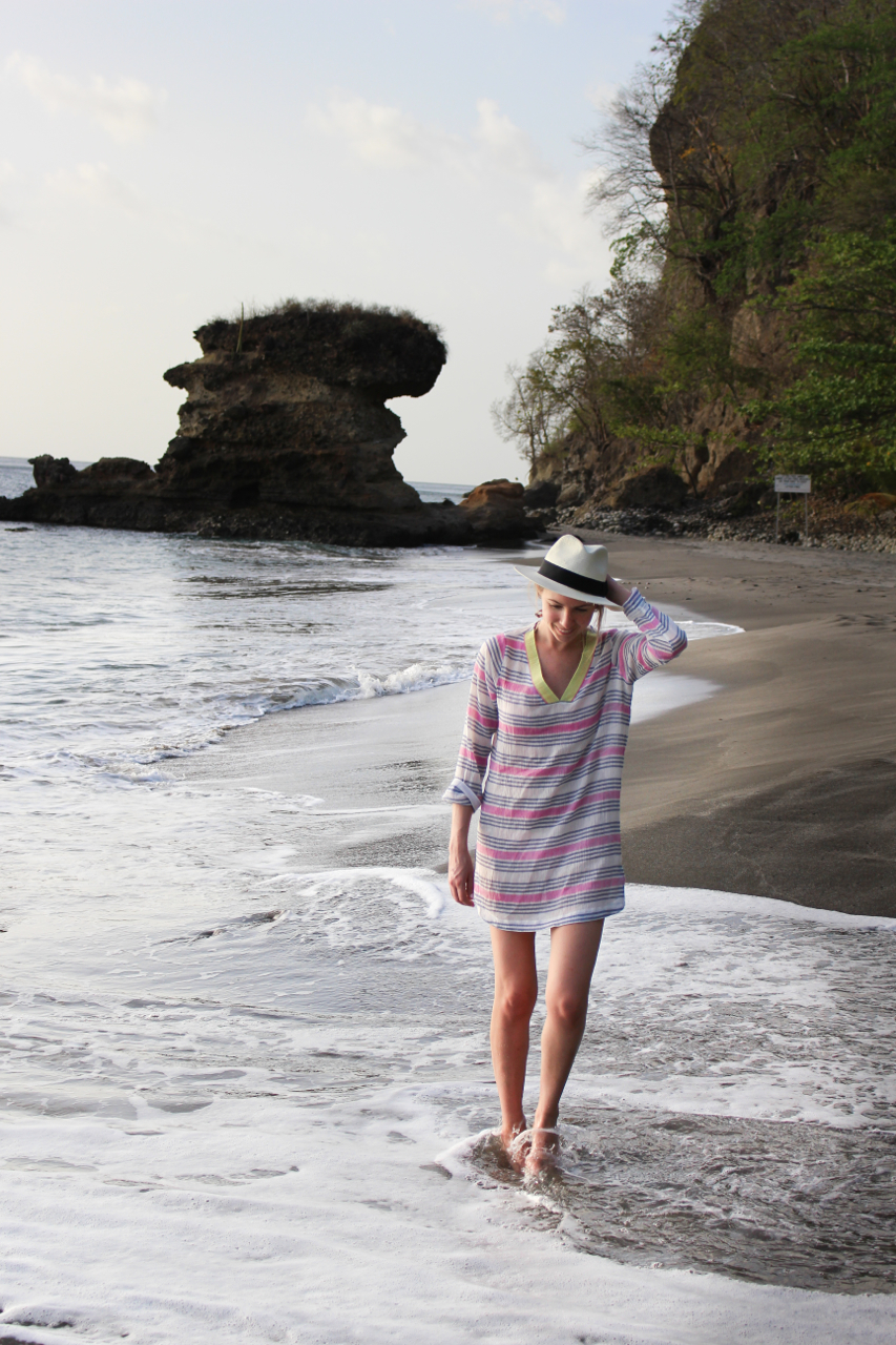 Soft Joie Kirshna Tunic Cover Up | Biltmore for Madewell Panama Hat