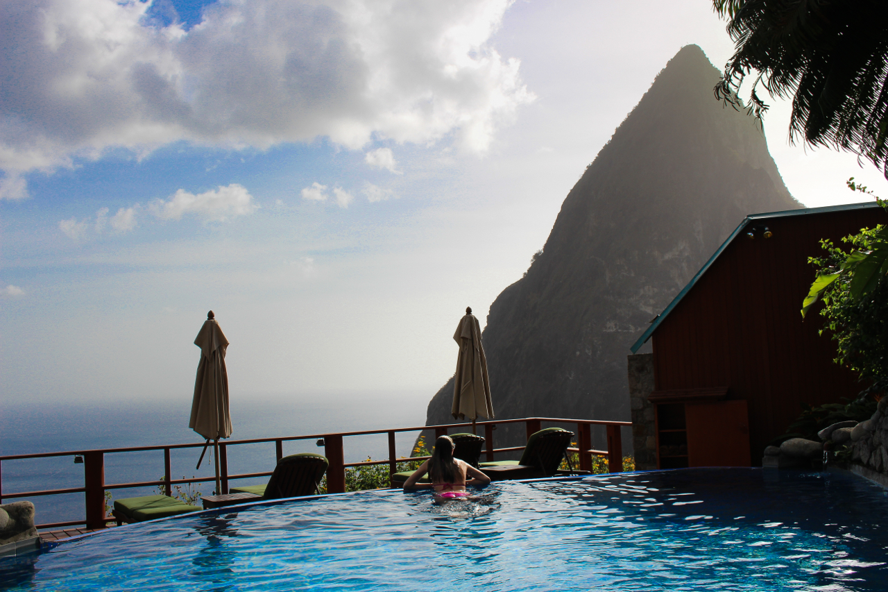 Ladera Resort St. Lucia - View of the Petit Piton