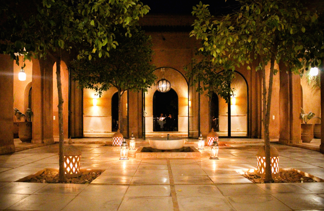 Kasbah Bab Ourika at Night, Morocco | Maroc | Luxury Travel |Atlas Mountains | Ourika Valley