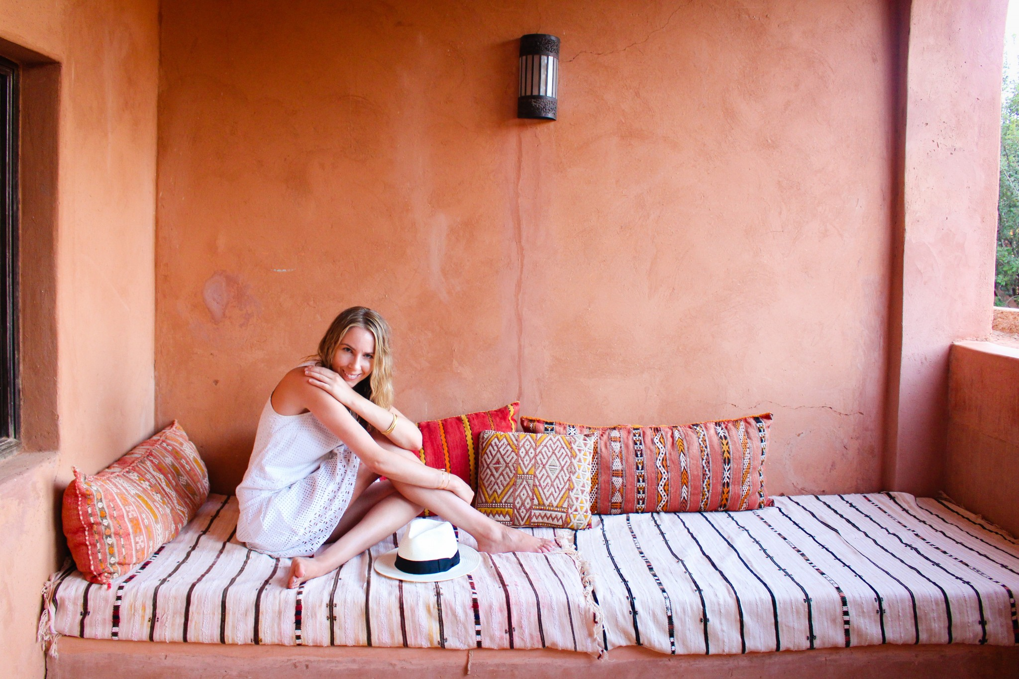 Room 3 Terrace at Kasbah Bab Ourika, Morocco | Maroc | Luxury Travel |Atlas Mountains | Ourika Valley