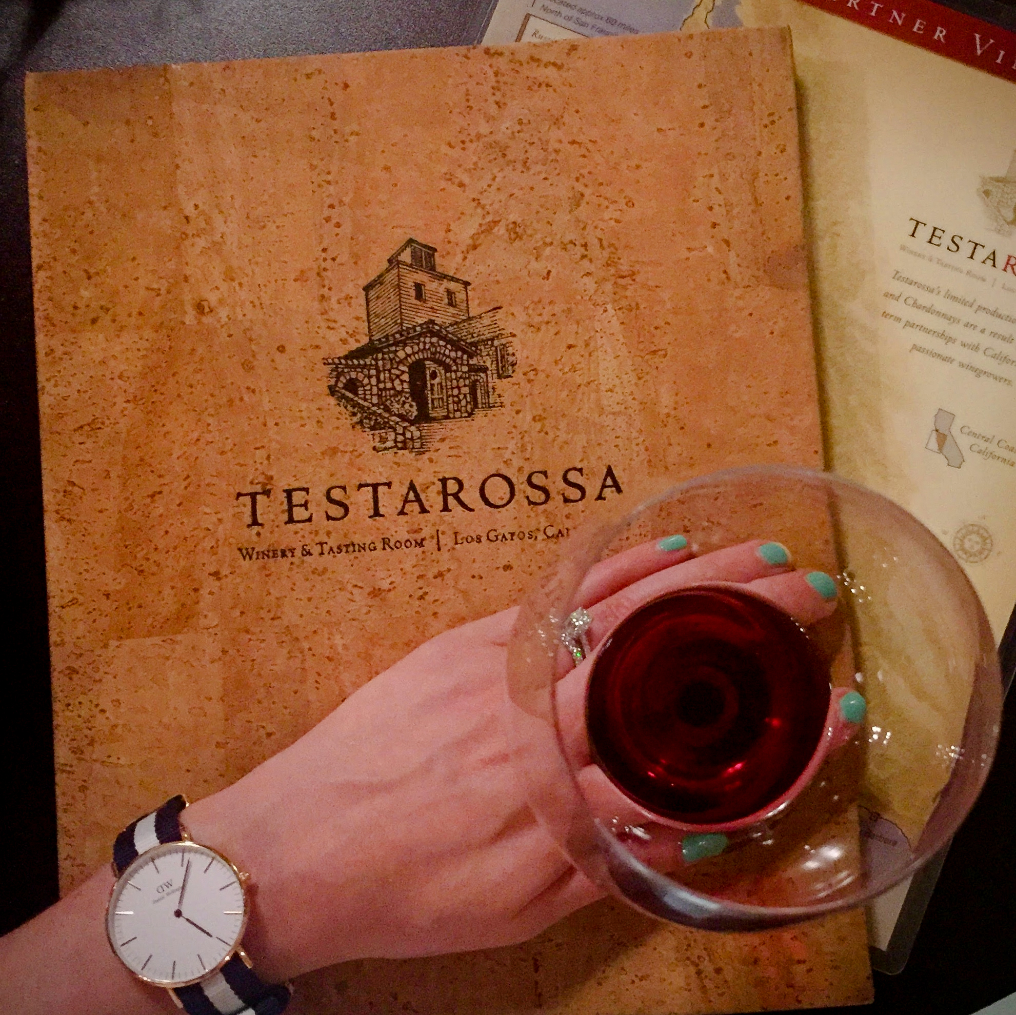 Testarossa Winery Los Gatos CA