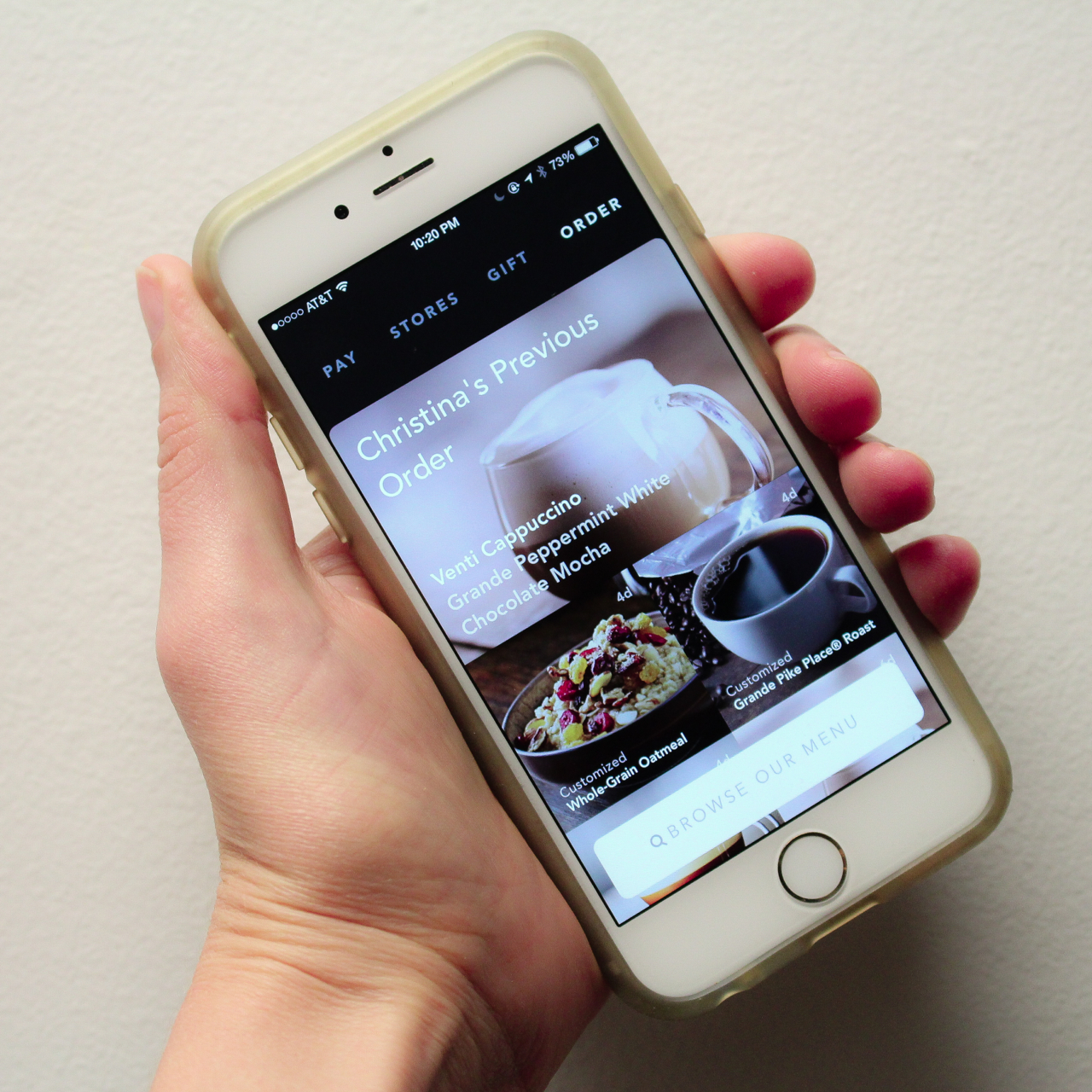 Starbucks Mobile Ordering is Here! (and it's amazing!!)