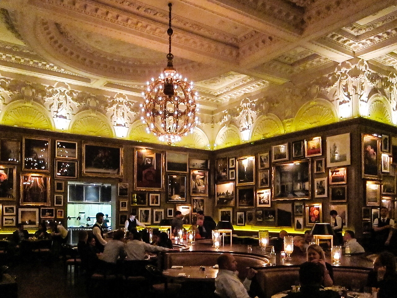 Berners Tavern inside The London Edition Hotel
