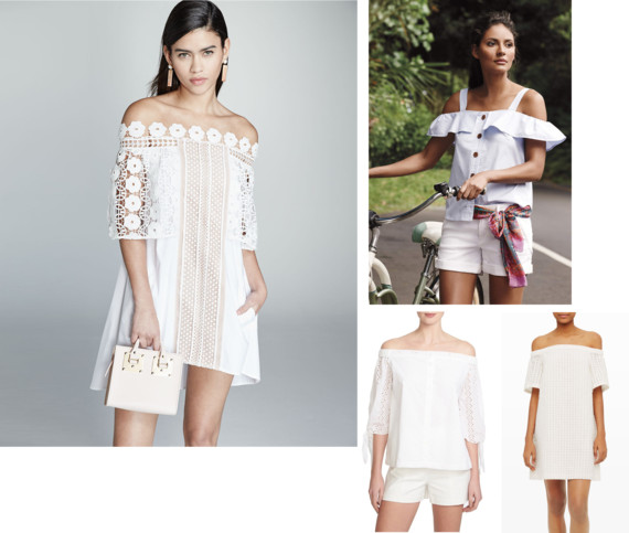 Spring/Summer 2016 Hottest Trend: Off the Shoulder Dresses and Tops
