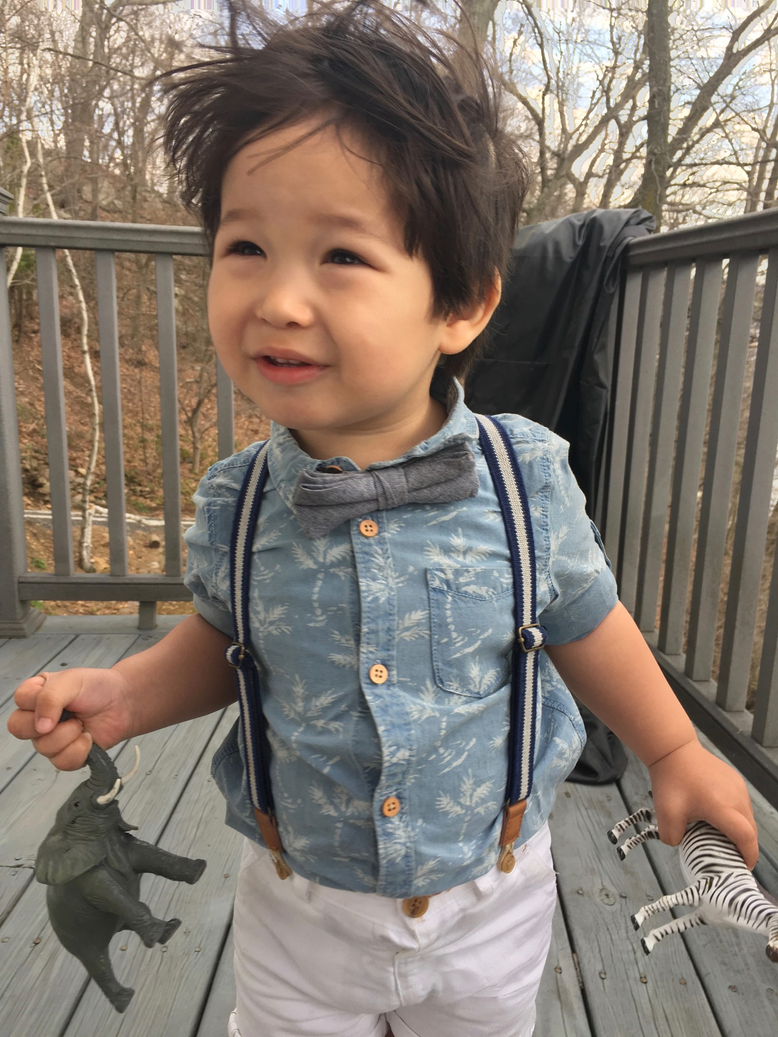 Zara Kids Denim with Palm Trees