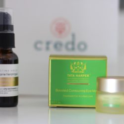Credo Beauty | Marie Veronique Smoothing B3 Serum | Tata Harper Contouring Eye Mask
